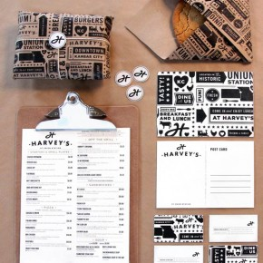 Harvey's Branding by Tad Carpenter