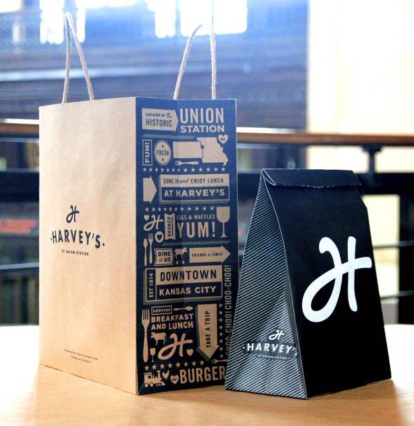 Harveys Packaging Design by Tad Carpenter