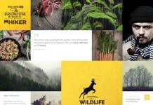 Hiker Photography WordPress Theme