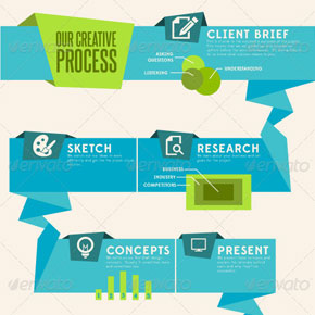Infographic Elements from Overflow Design Group