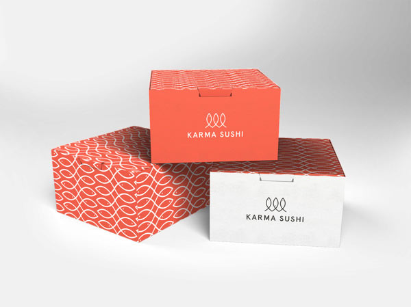 Karma Sushi Corporate Design by Kasper Gram