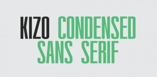 Kizo Condensed Sans Serif Font Family