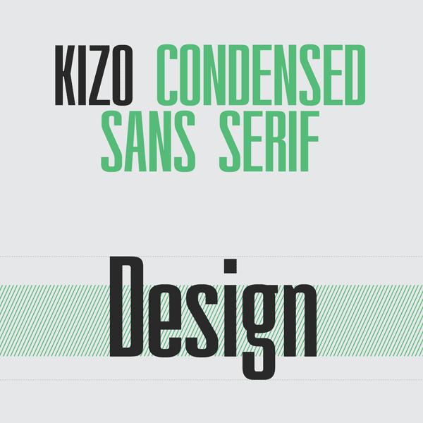 Condensed Serif Type Condensed Sans Serif Font