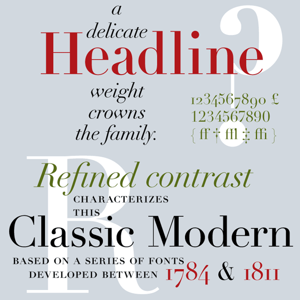 Linotype Didot - Classic Typeface