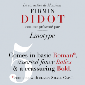 Linotype Didot