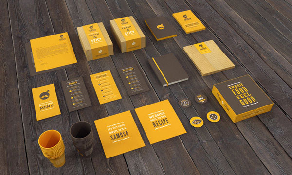 Indian Cafe & Restaurant – Branding by Jekin Gala