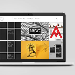 Mug - Grid Portfolio WordPress Theme