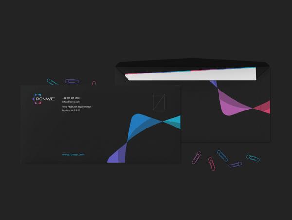 Ronwe Limited – Brand Identity by Dominik Pacholczyk