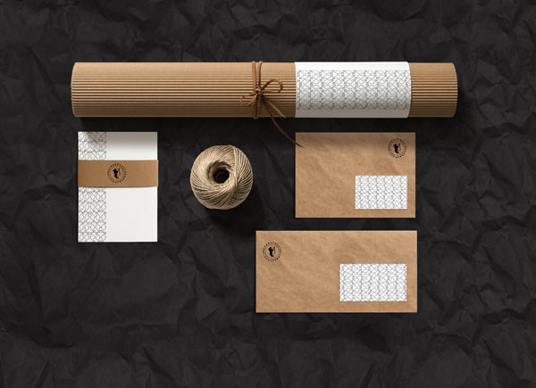 Branding products created by Elia Pirazzo