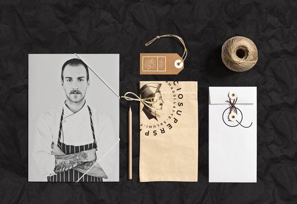 Sandrin Corporate Identity by Elia Pirazzo