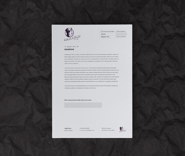 Nice stationery and brand design by Elia Pirazzo