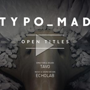 TypoMad Opening Titles by Tavo