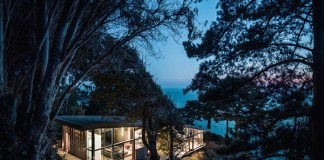 Fall House at Big Sur, California by Fougeron Architecture