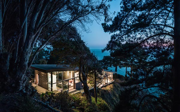 House at Big Sur, California by Fougeron Architecture