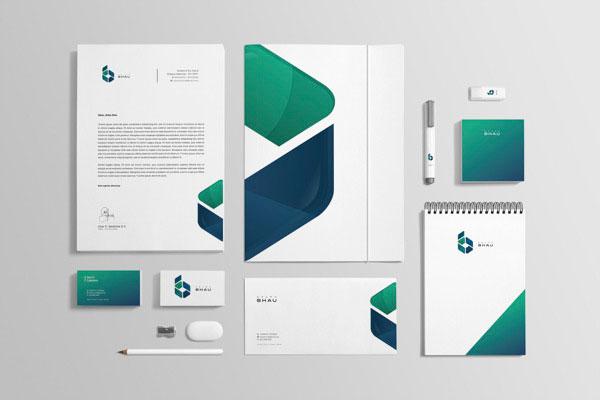 grupo bhau corporate design by diego leyva