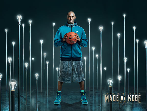 timeless design a1a94 b3e87 Martin Schoeller Shoots Kobe Bryant with Picasso Inspired NIKE Flyknit  Sneakers