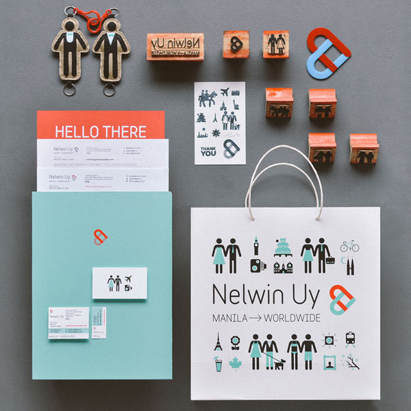Wedding Photographer Identity by Plus63 Design Co.