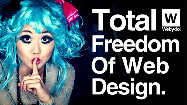 Webydo - Total Freedom of Web Design
