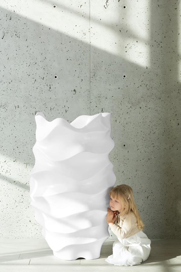 oversized sculptural planter by Marie Khouri