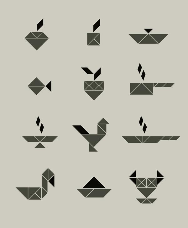 Archontico Brand Symbols by Cheshire Cat Co.