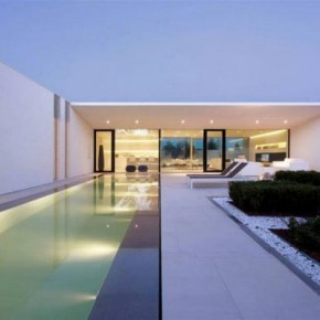 Pool Villa in Jesolo Lido, Italy by JM Architecture