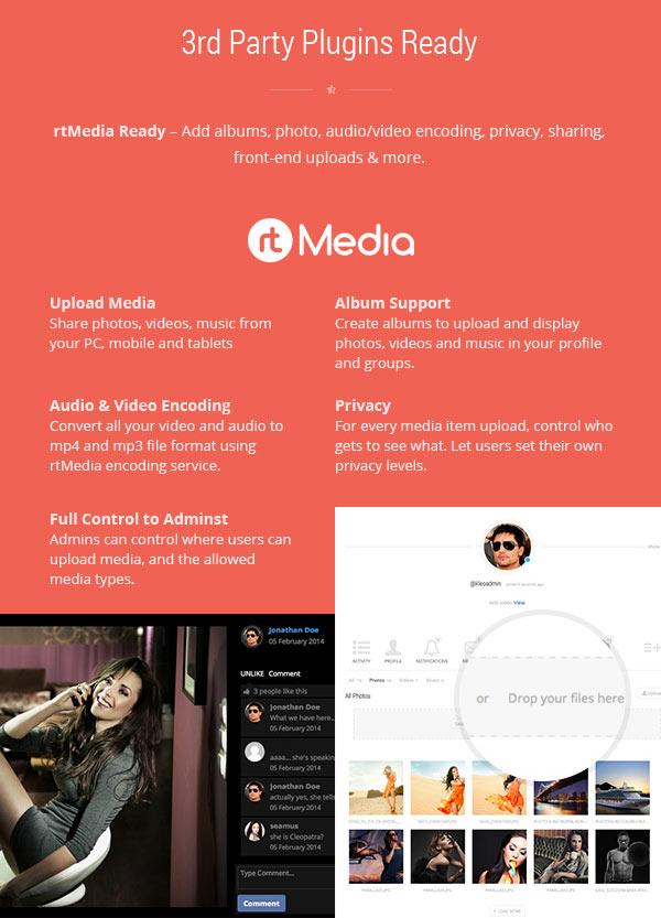 KLEO – WordPress Theme – 3rd Party Plugins Ready