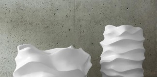 oversized sculptural planters by Marie Khouri