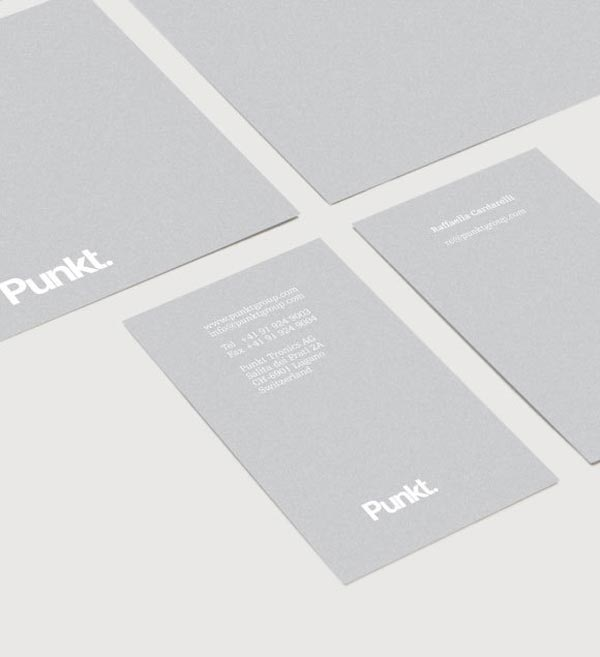 Punkt. Stationery Design
