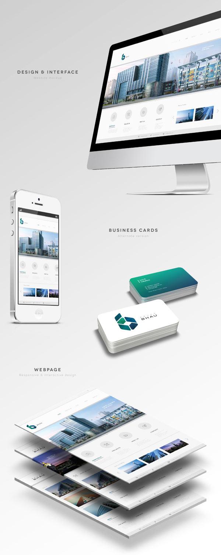 Grupo BHAU – Corporate Design by Diego Leyva