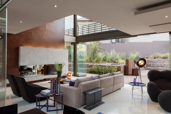 The living room. Open spaces and breathtaking interior design.