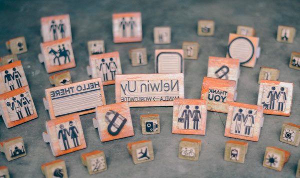 Nelwin Uy - Rubber Stamps by Plus63 Design Co.
