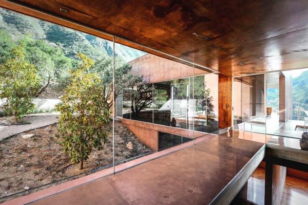 Inside the Narigua House in El Jonuco, Mexico.