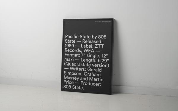 BCNMCR 2014 Typographic Poster by Atipus