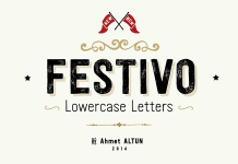 Festivo LC Font Family by Ahmet Altun