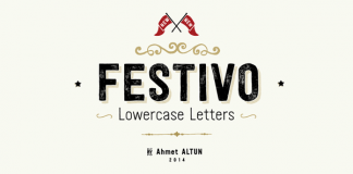 Festivo LC Font Family by Ahmet Altun