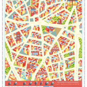 La Latina - Map and Pocket Guide