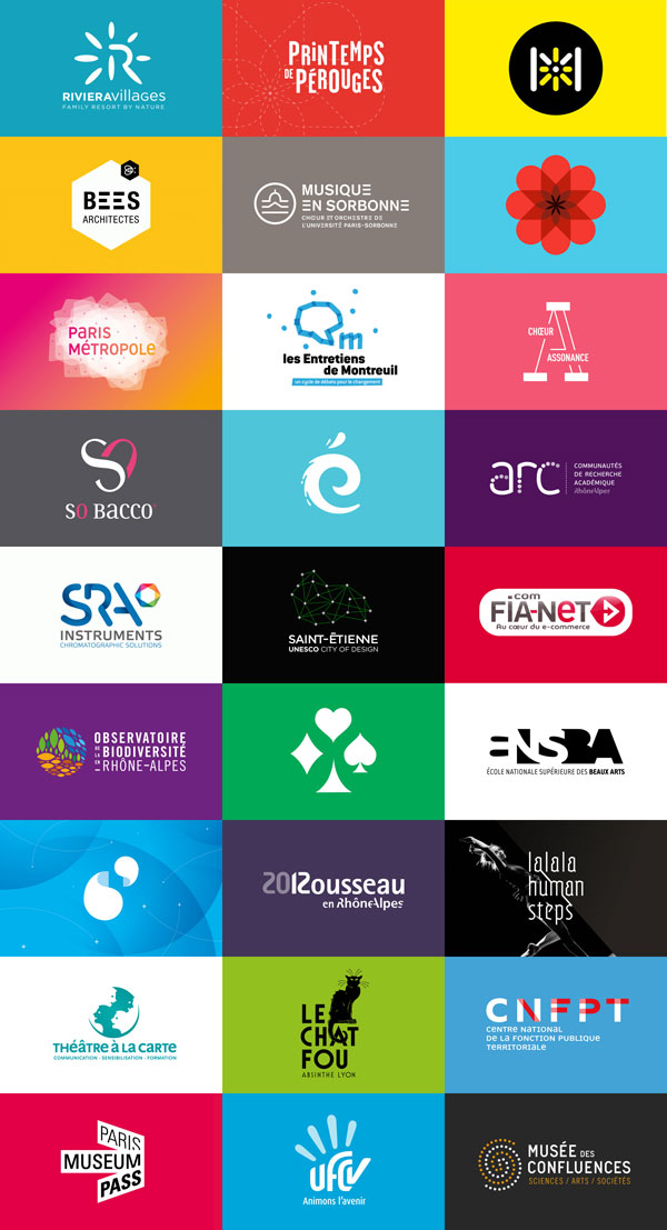 Logo Collection by Agency Graphéine