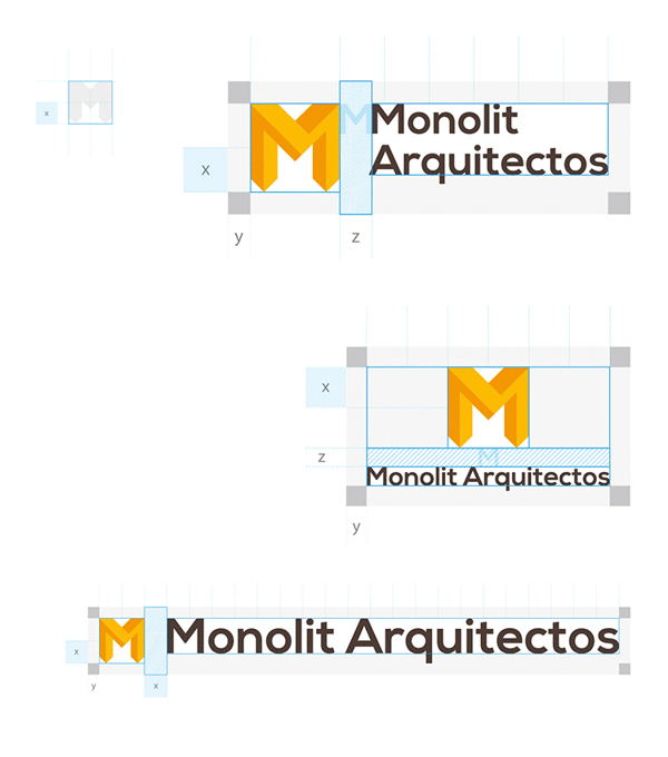 Corporate Identity of Monolit Arquitectos