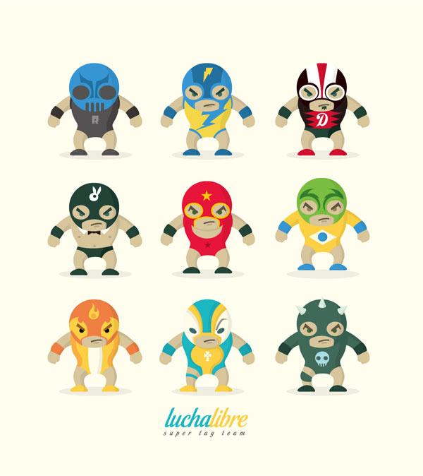 Character Illustrations by Juan Molinet