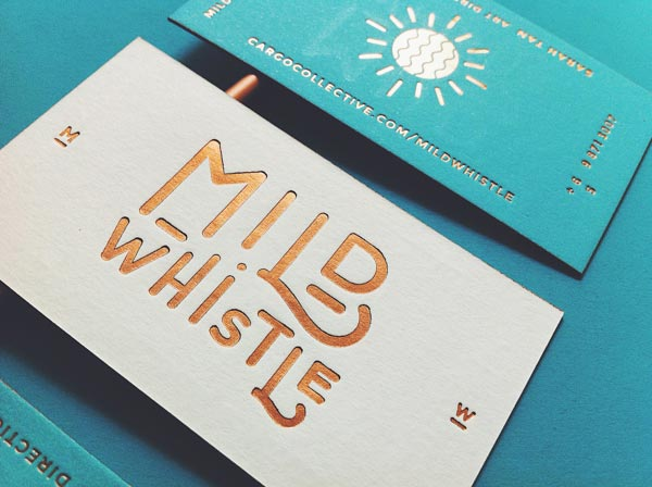 Mild Whistle Business Cards by Oddds