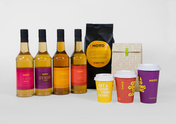 Motto – Coffee Branding by Marque and RCG