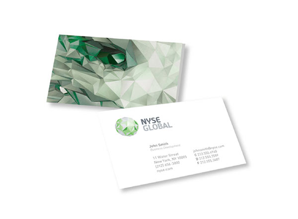 NYSE Identity and Business Card Proposal by Interbrand
