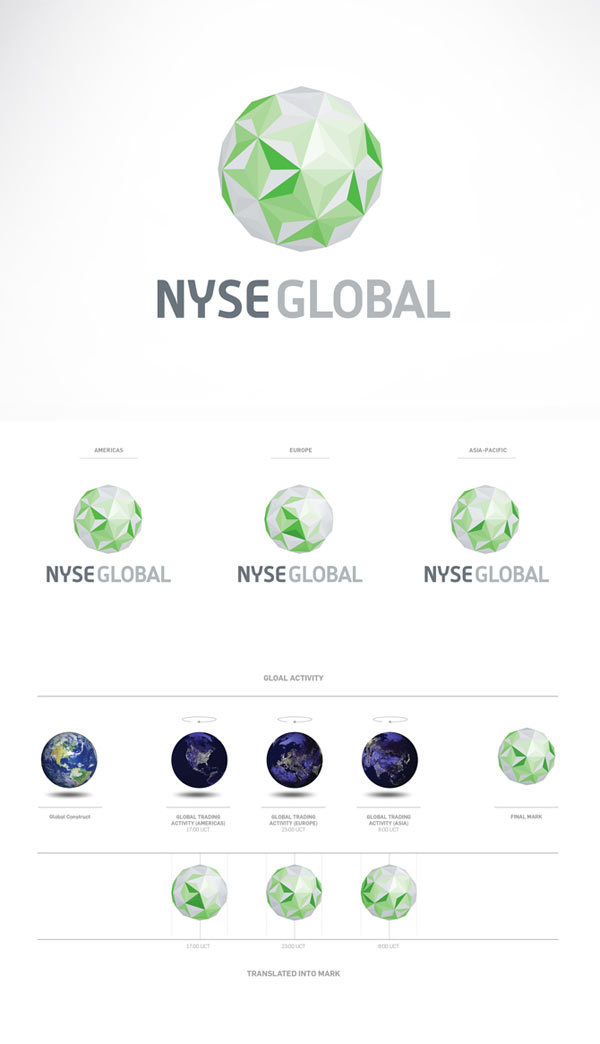 NYSE Identity and Logo Proposal by Interbrand