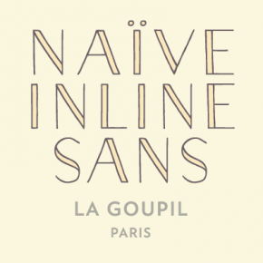 Naïve Inline Sans from La Goupil Paris