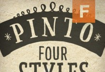 Pinto Hand-Lettered Font Family from FaceType