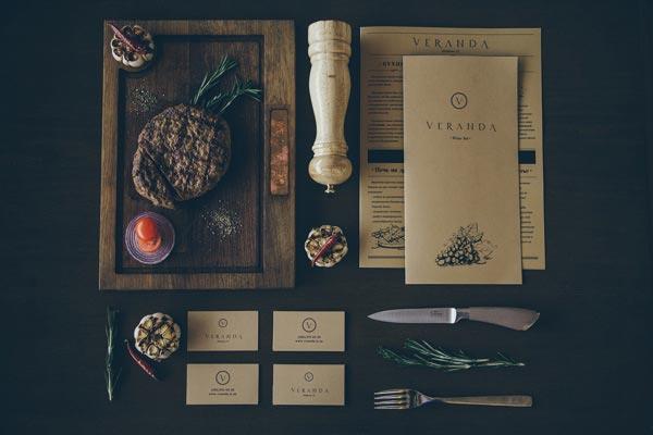 Veranda Restaurant Brand Identity by Forma Line
