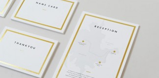 Wedding Collateral Design by Kevin Tran