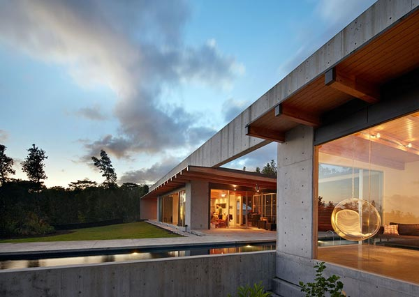 Cast In Place Concrete House In Hawaii