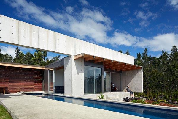Cast-in-place concrete architecture