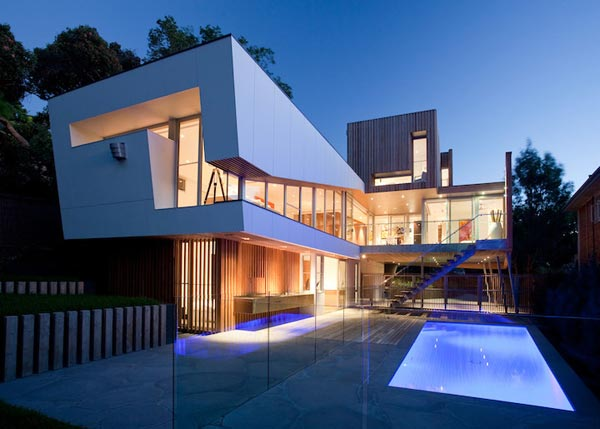 Award Winning Architecture Kew House 3 By Vibe Design Group